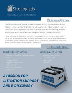 SiteLogistix Company Brief
