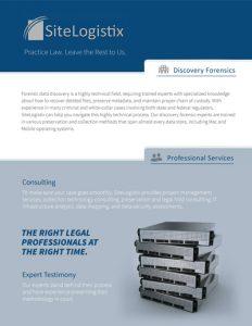 SiteLogistix Digital Forensics Brief