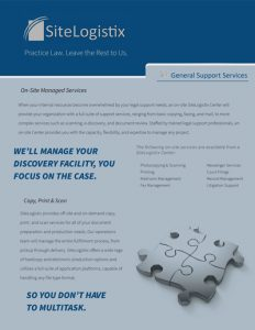 SiteLogistix Overview Brief